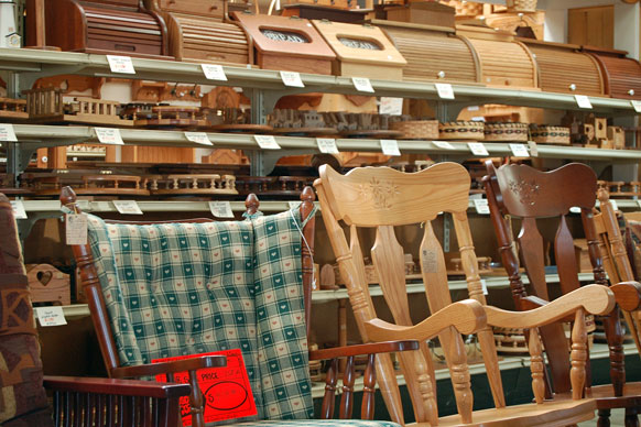 Amish-made indoor furniture and accessories